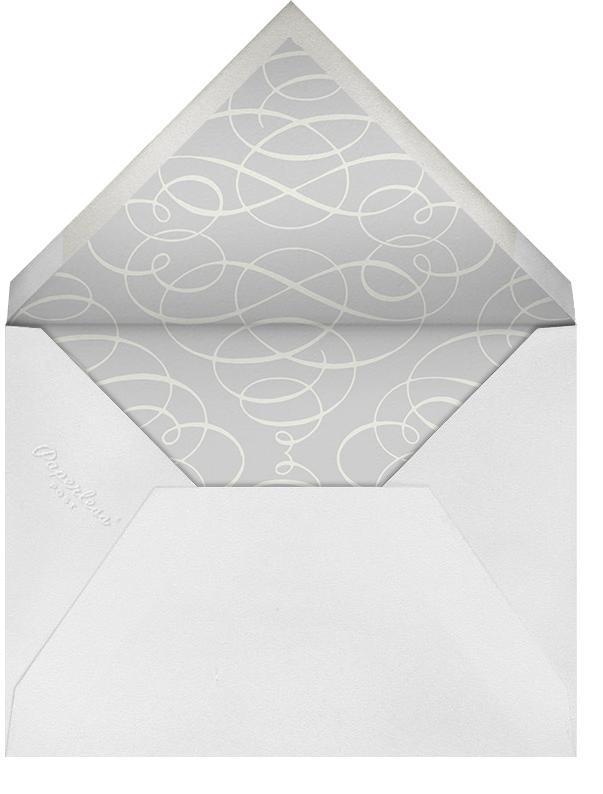 Regency (Square) - Black - Paperless Post - Engagement party - envelope back