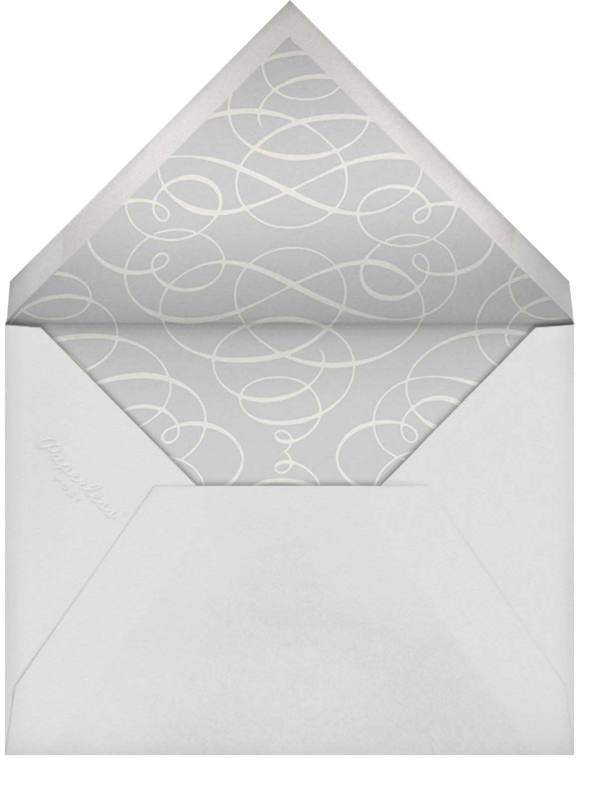 Regency (Square) - Black - Paperless Post - Rehearsal dinner - envelope back