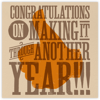 Congratulations Thumbs Up - Paperless Post -