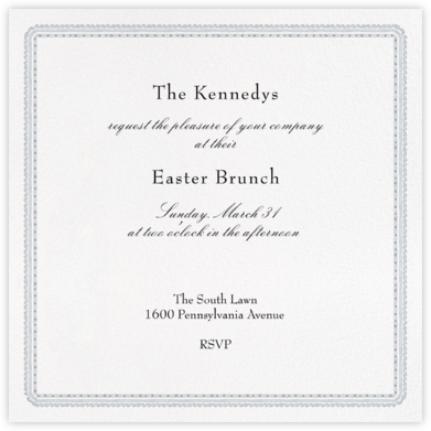 Dashwood - Paperless Post - Easter Invitations