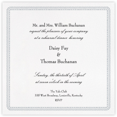 Dashwood - Paperless Post - Wedding Weekend Invitations