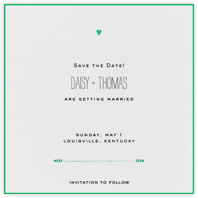 The Raleigh - Great Scot - Mr. Boddington's Studio - Save the dates