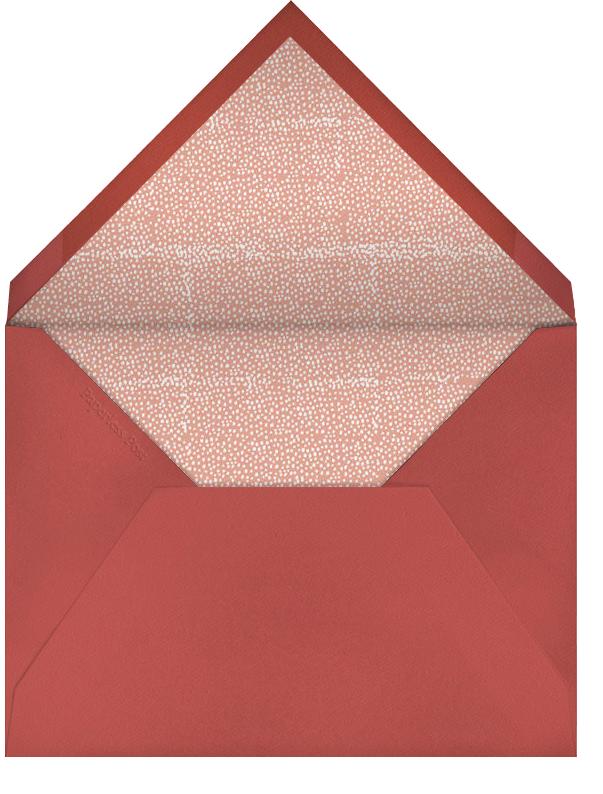 The Raleigh - Guava - Mr. Boddington's Studio - Save the date - envelope back