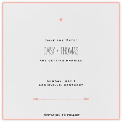 The Raleigh - Guava - Mr. Boddington's Studio - Classic save the dates