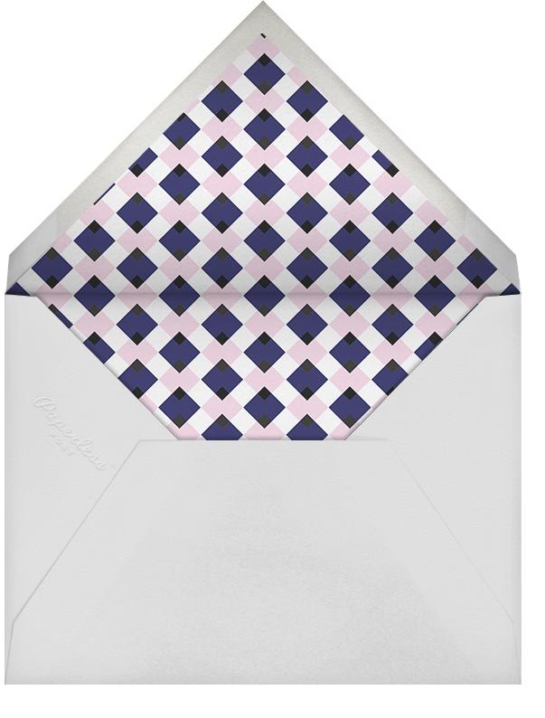 Navy (Square) - Paperless Post - Envelope
