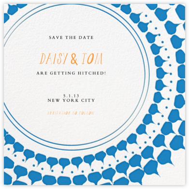 Spec in Capri - Blue - Mr. Boddington's Studio - Save the dates