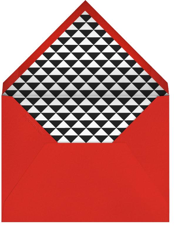 Birthday Burst Sticker - Paperless Post - Birthday - envelope back