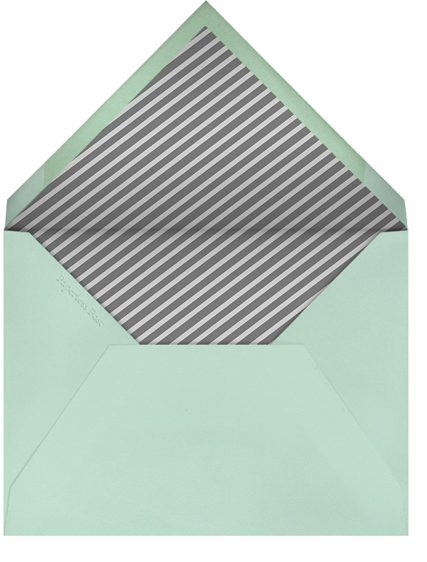 Mint - Paperless Post - Wedding party requests - envelope back
