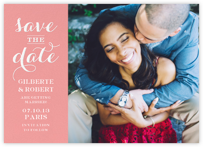Photo Flourish - Blossom - Paperless Post - Save the dates