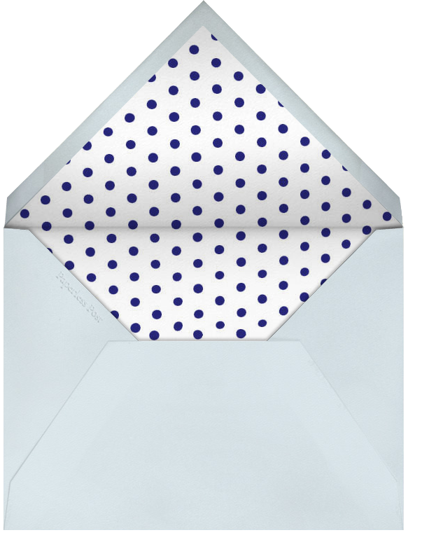 Double Thank You - Blue and Navy - Paperless Post - Envelope