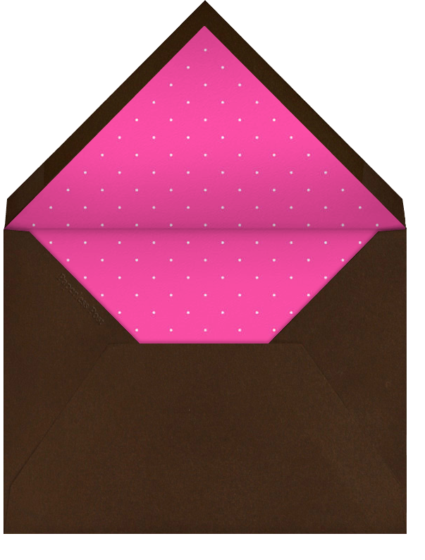 Wedding Knot (Valrhona) - Paperless Post - Engagement party - envelope back