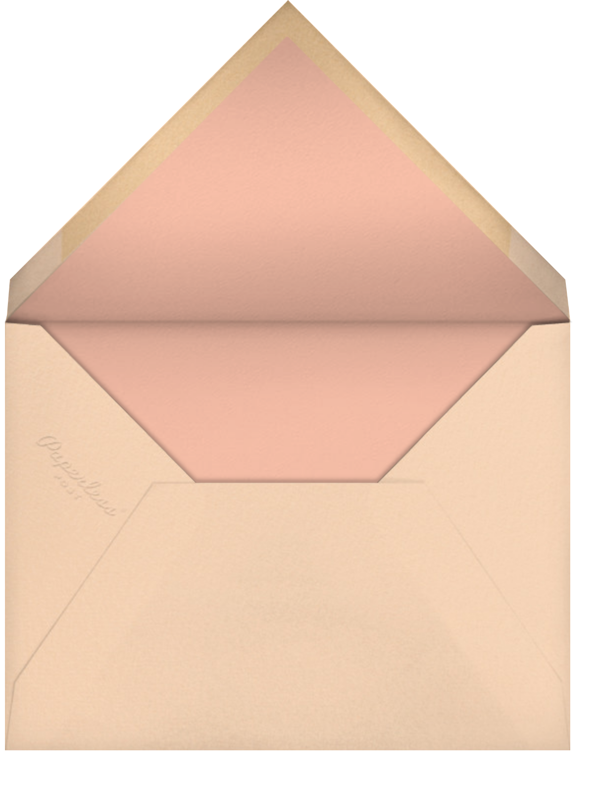 Cowgirl - Paperless Post - Bachelorette party - envelope back