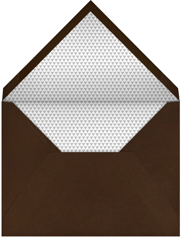 Corinthian - Paperless Post - Cocktail party - envelope back