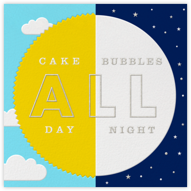 Sol y Luna - Paperless Post - Birthday Cards