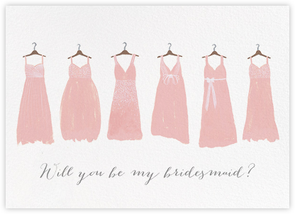 Be My Bridesmaid | horizontal