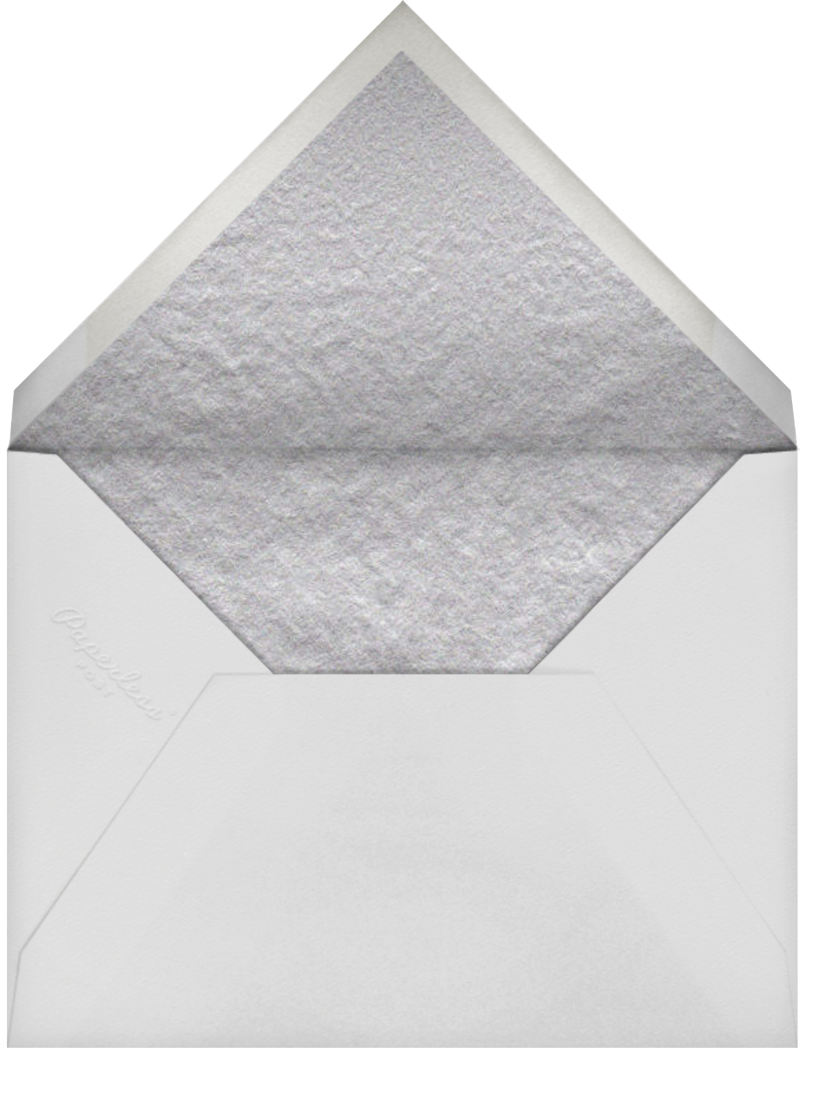 Have A Happy Birthday - gold - Paperless Post - Birthday - envelope back