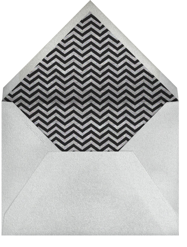 Have A Happy Birthday - silver - Paperless Post - Birthday - envelope back