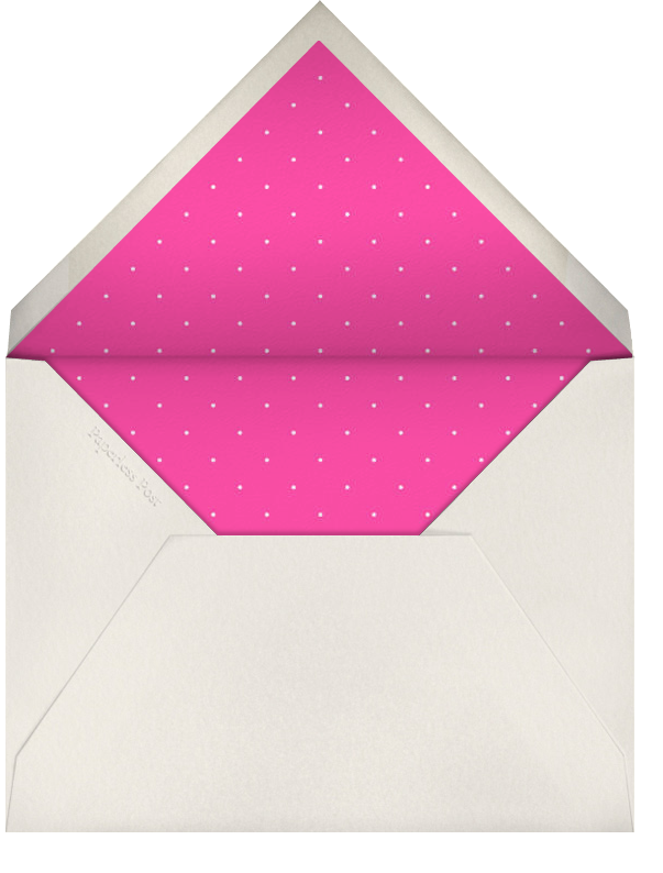 Paphos (Pink) - Paperless Post - Bachelorette party - envelope back