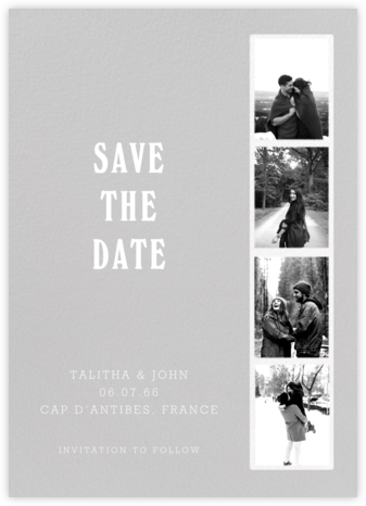 Photo Booth - Fog - Paperless Post - Save the dates