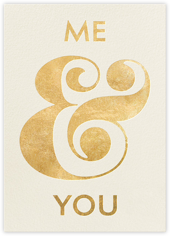Me and You - kate spade new york - Anniversary Cards