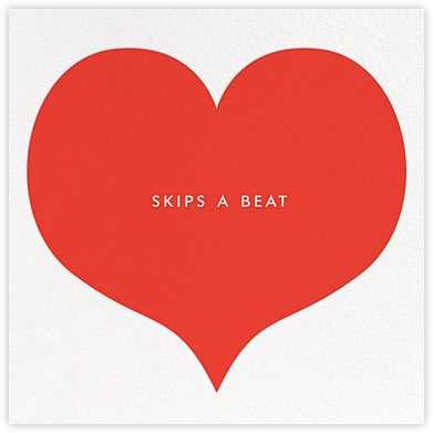 Skips a Beat - kate spade new york - Valentine's Day Cards