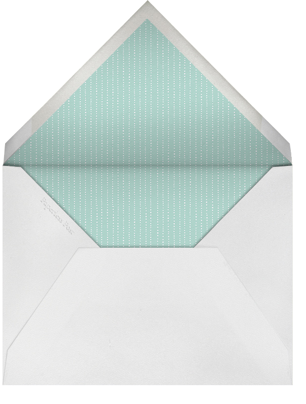 Keep It Quiet - Lilac - Paperless Post - Adult birthday - envelope back
