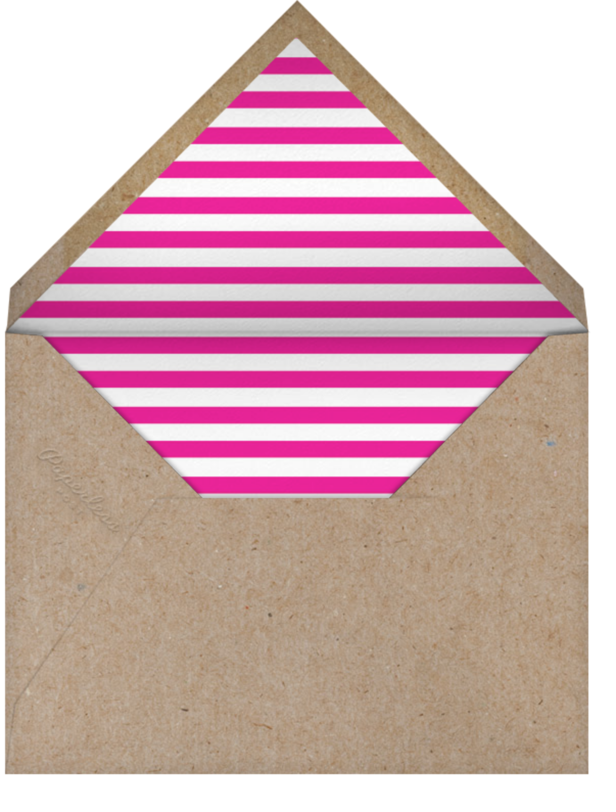 Beet of My Heart - The Indigo Bunting - Anniversary cards - envelope back