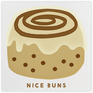 Nice Buns - The Indigo Bunting - Love Cards