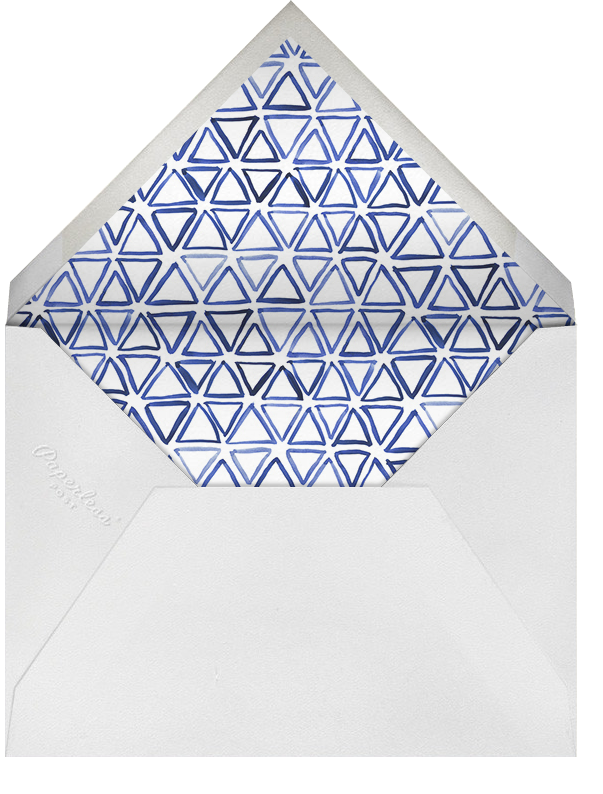 The Night Before - Blue - Linda and Harriett - Envelope