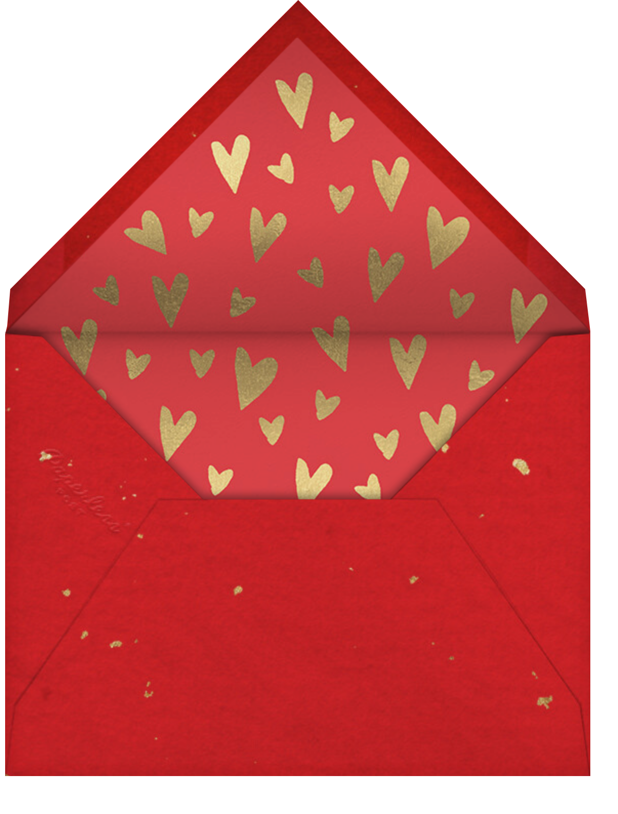 Big Heart - Paperless Post - Valentine's Day - envelope back