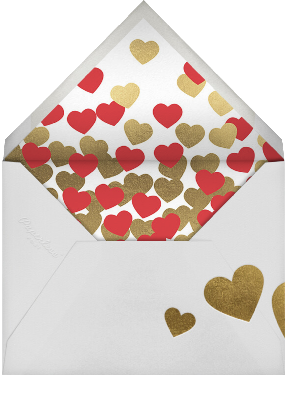 Our Funny Valentine - Paperless Post - Valentine's Day - envelope back