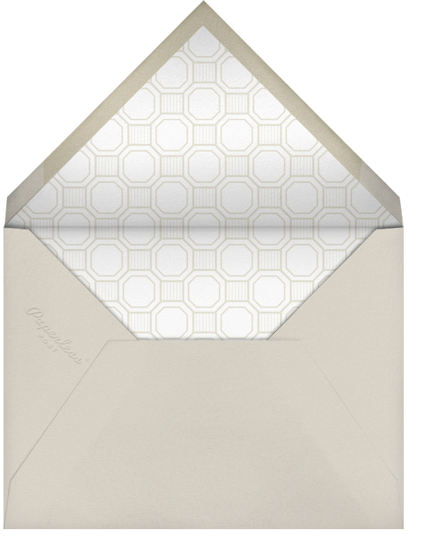 Claridge (Tall) - Black - Paperless Post - All - envelope back