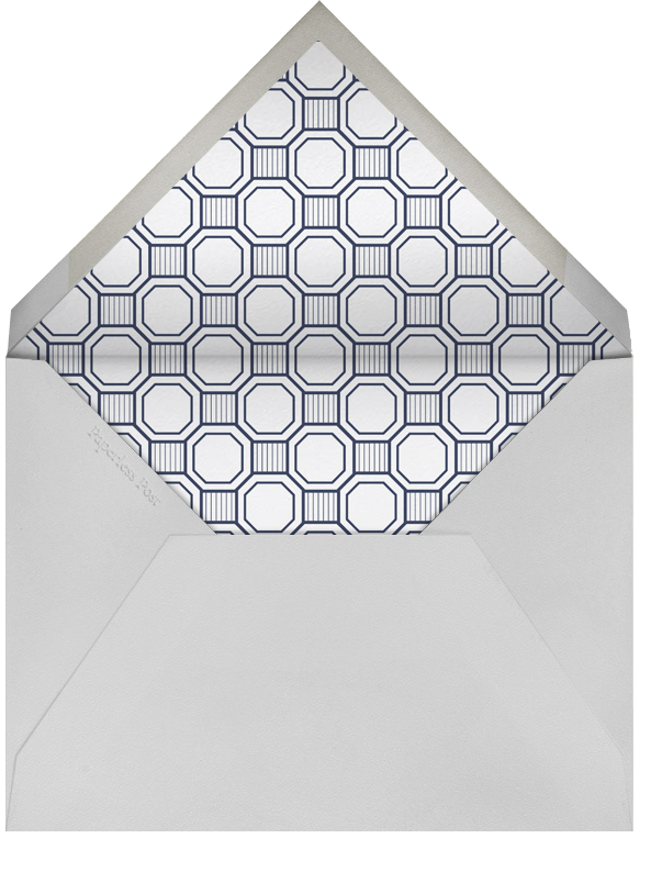 Claridge (Tall) - Navy - Paperless Post - All - envelope back