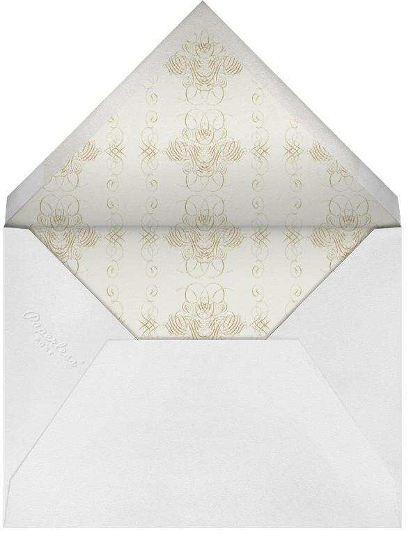 Congratulations Flourish - Indigo - Bernard Maisner - Congratulations - envelope back