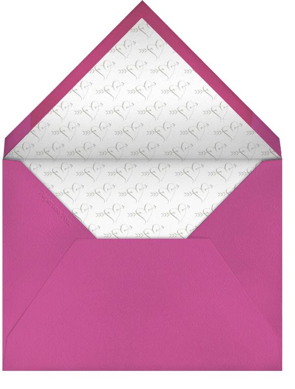 Love You - Fuschia - Bernard Maisner - Envelope