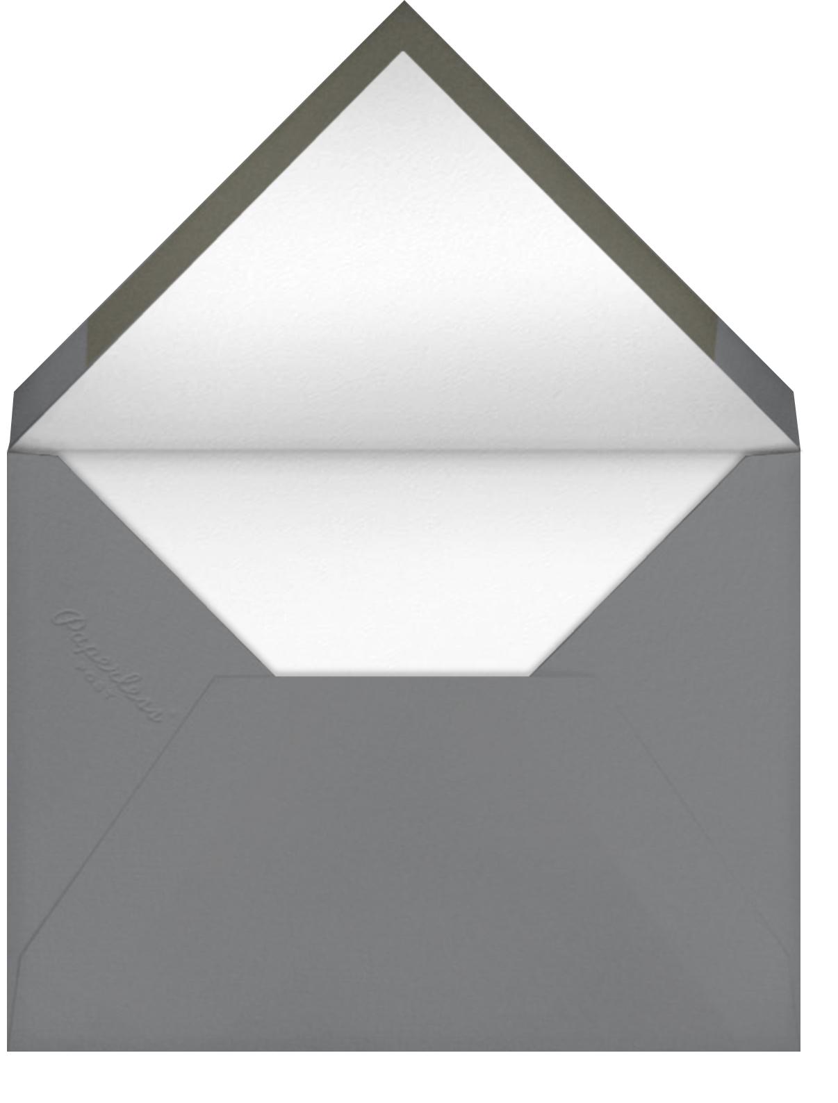 Rivercane - Sherbert - Paperless Post - Envelope