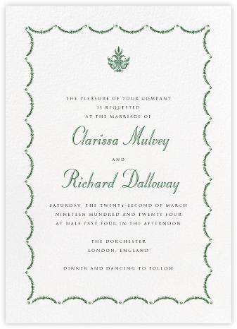 Garland - Green - Paperless Post -