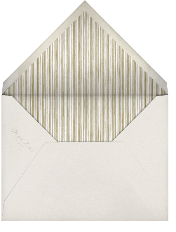 Tying The Knot Tall - Gold - Paperless Post - All - envelope back