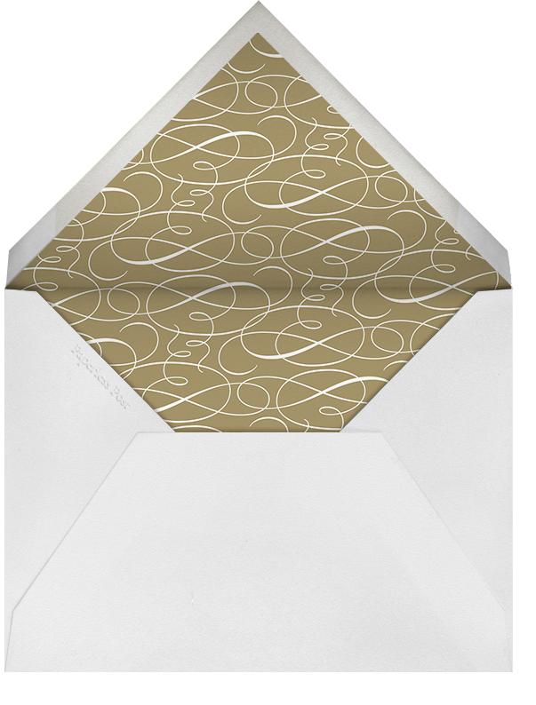 Damask (Border) - Cream/Millet - Paperless Post - Envelope