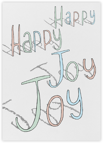 Happy Happy Joy Joy - Paperless Post - Birthday Cards for Him