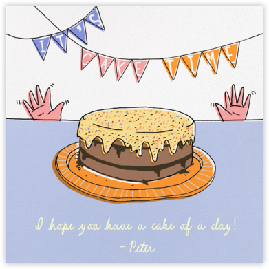 Almost Cake Time - Paperless Post - Birthday Cards