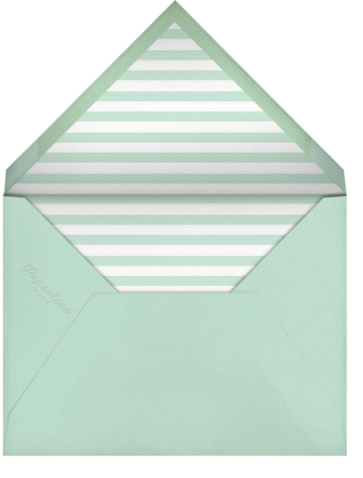 Simple Script (Invitation) - Mint - Paperless Post - All - envelope back