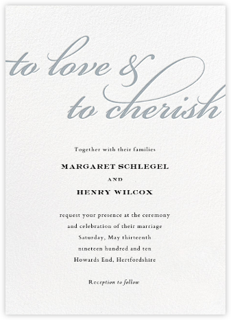 Simple Script (Invitation) - Pacific - Paperless Post - Wedding Invitations