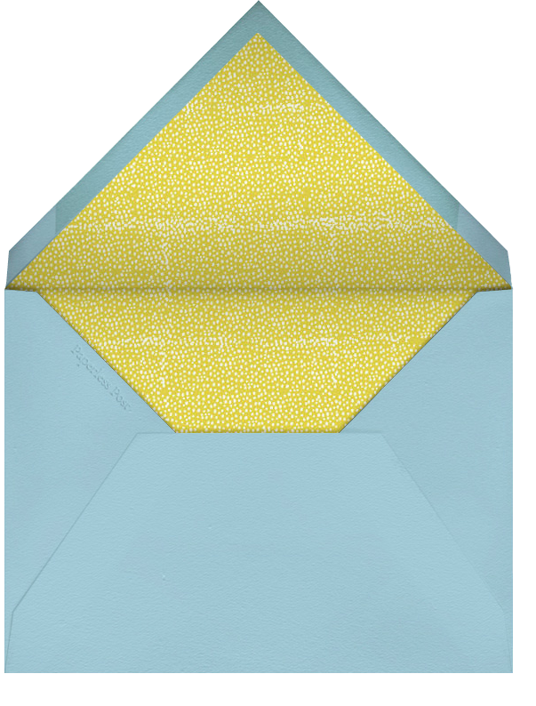 Blow Out the Candles - Four - Mr. Boddington's Studio - Adult birthday - envelope back