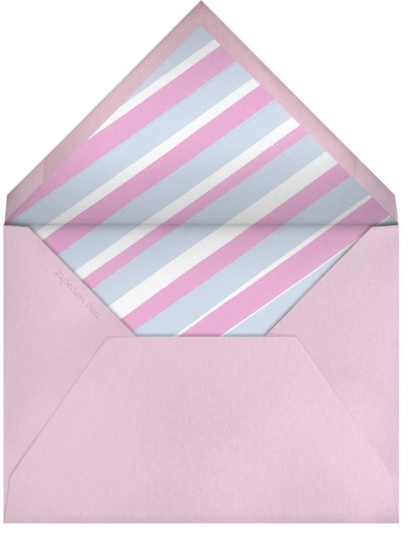 Tea Party (Pink) - Paperless Post - Kids' birthday - envelope back