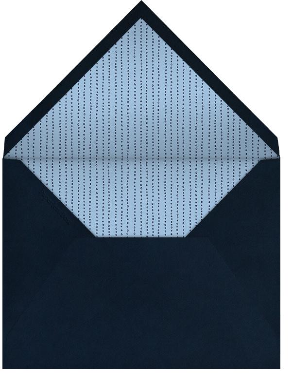 Painted Circle - Paperless Post - Baptism  - envelope back