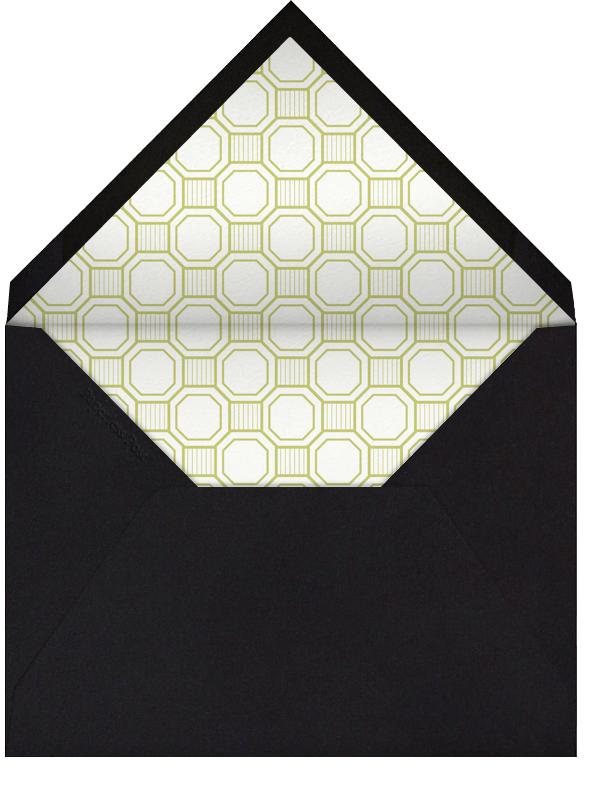 Claridge (Horizontal) - Chartreuse - Paperless Post - null - envelope back