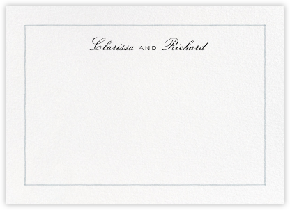 Mignonette Horizontal - Pacific - Paperless Post - Personalized Stationery