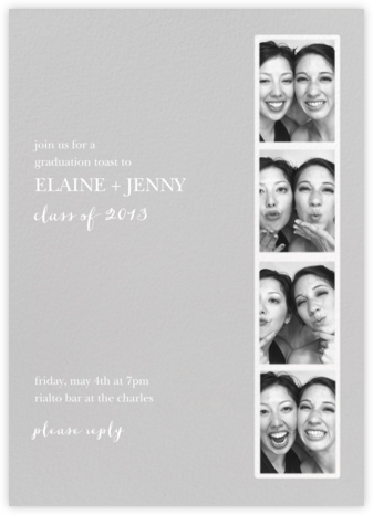 Photo Booth - Fog - Paperless Post - Celebration invitations