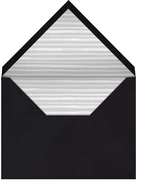 Triangles Splitscreen - Black - Paperless Post - Birth - envelope back